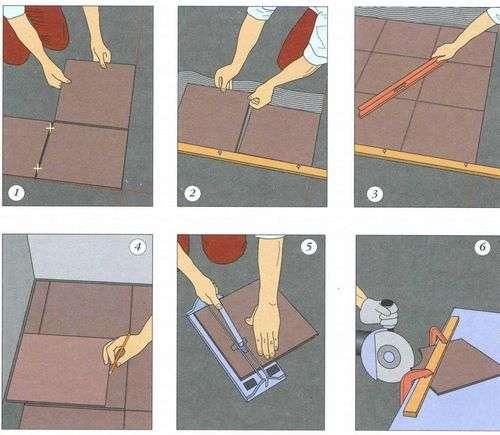 Как уложить керамогранит на деревянный пол